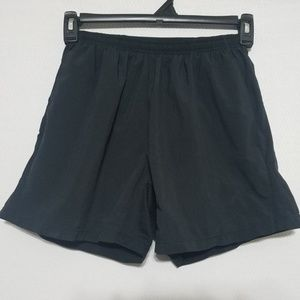 2/$30 Nike Athletic Shorts Back Zipper Black Small